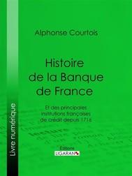 Histoire de la Banque de France - copertina