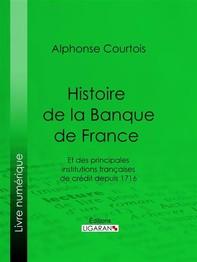 Histoire de la Banque de France - Librerie.coop