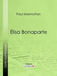 Élisa Bonaparte - Librerie.coop