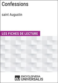 Confessions de saint Augustin - copertina