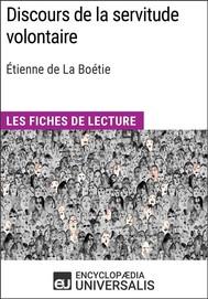 Discours de la servitude volontaire d'Étienne de La Boétie - copertina