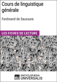 Cours de linguistique générale de Ferdinand de Saussure - copertina
