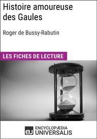 Histoire amoureuse des Gaules de Bussy-Rabutin - copertina