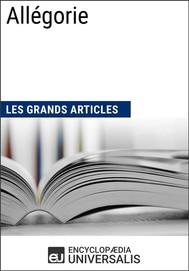 Allégorie (Les Grands Articles d'Universalis) - copertina
