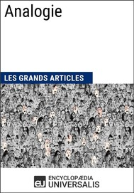Analogie (Les Grands Articles d'Universalis) - copertina