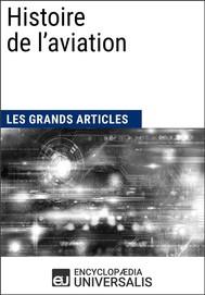 Histoire de l'aviation - copertina