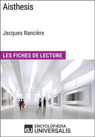 Aisthesis de Jacques Rancière - copertina