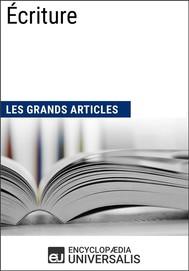 Écriture (Les Grands Articles) - copertina