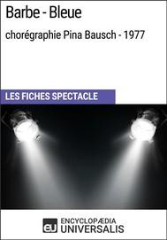 Barbe-Bleue (chorégraphie Pina Bausch - 1977) - copertina