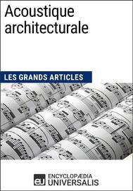 Acoustique architecturale - copertina