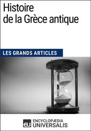 Histoire de la Grèce antique - copertina