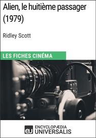 Alien, le huitième passager de Ridley Scott - copertina