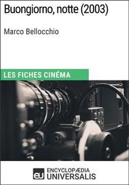 Buongiorno, notte de Marco Bellocchio - copertina