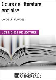 Cours de littérature anglaise de Jorge Luis Borges - copertina