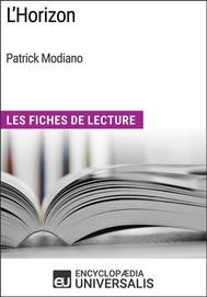 L'Horizon de Patrick Modiano - copertina