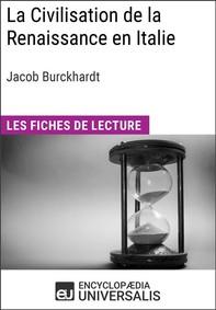 La Civilisation de la Renaissance en Italie de Jacob Burckhardt - Librerie.coop