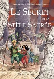 Le secret de la stèle sacrée  - copertina