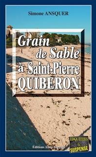 Grain de sable à St-Pierre-Quiberon - Librerie.coop