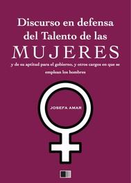Discurso en defensa del talento de las mujeres - copertina
