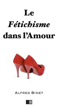 Le fétichisme dans l'amour - copertina