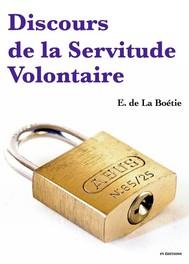 Discours sur la servitude volontaire - copertina
