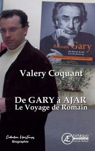 De Gary à Ajar, le voyage de Romain - Librerie.coop