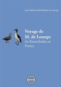 Voyage de M. de Lesseps - Librerie.coop