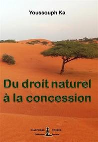 Du droit naturel à la concession - Librerie.coop