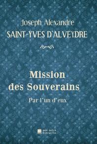 Mission des Souverains - Librerie.coop