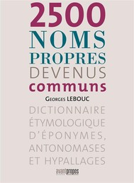 2500 noms propres devenus communs - copertina
