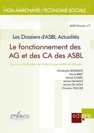Le Fonctionnement des AG et des CA des ASBL - copertina
