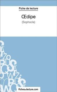 Oedipe de Sophocle (Fiche de lecture) - Librerie.coop