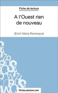 A l'Ouest rien de nouveau d'Erich Maria Remarque (Fiche de lecture) - copertina