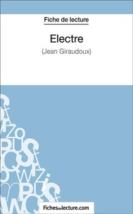Electre de Jean Giraudoux (Fiche de lecture) - copertina