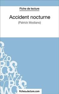 Accident nocturne - copertina