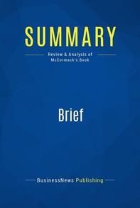 Summary: Brief - Librerie.coop