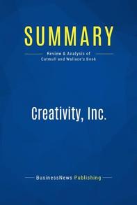 Summary: Creativity, Inc. - Librerie.coop