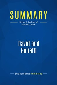 Summary: David and Goliath - Librerie.coop