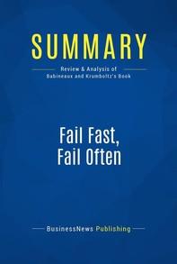 Summary: Fail Fast, Fail Often - Librerie.coop