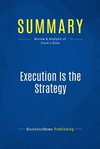 Summary: Execution Is the Strategy - Librerie.coop