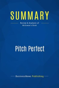 Summary: Pitch Perfect - Librerie.coop