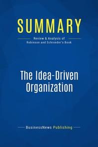 Summary: The Idea-Driven Organization - Librerie.coop