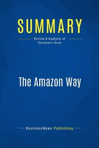 Summary: The Amazon Way - Librerie.coop