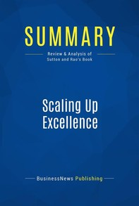 Summary: Scaling Up Excellence - Librerie.coop