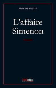 L'affaire Simenon - Librerie.coop