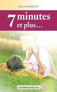 7 minutes et plus… - copertina