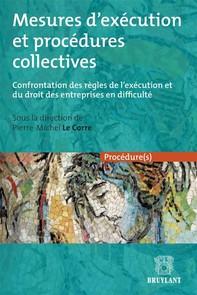 Mesures d'exécution et procédures collectives - Librerie.coop