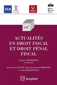 Actualités en droit fiscal - copertina