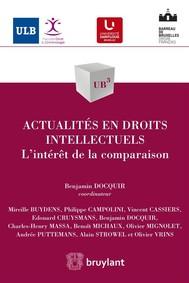 Actualités en droits intellectuels - copertina