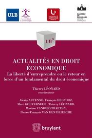 Actualités en droit économique - copertina